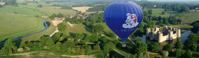 Sky Bus Ballooning Hot Air Balloon Flights in East Sussex and Sussex