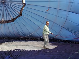 Training to be a Air Balloon Pilot in  Kent and East Sussex