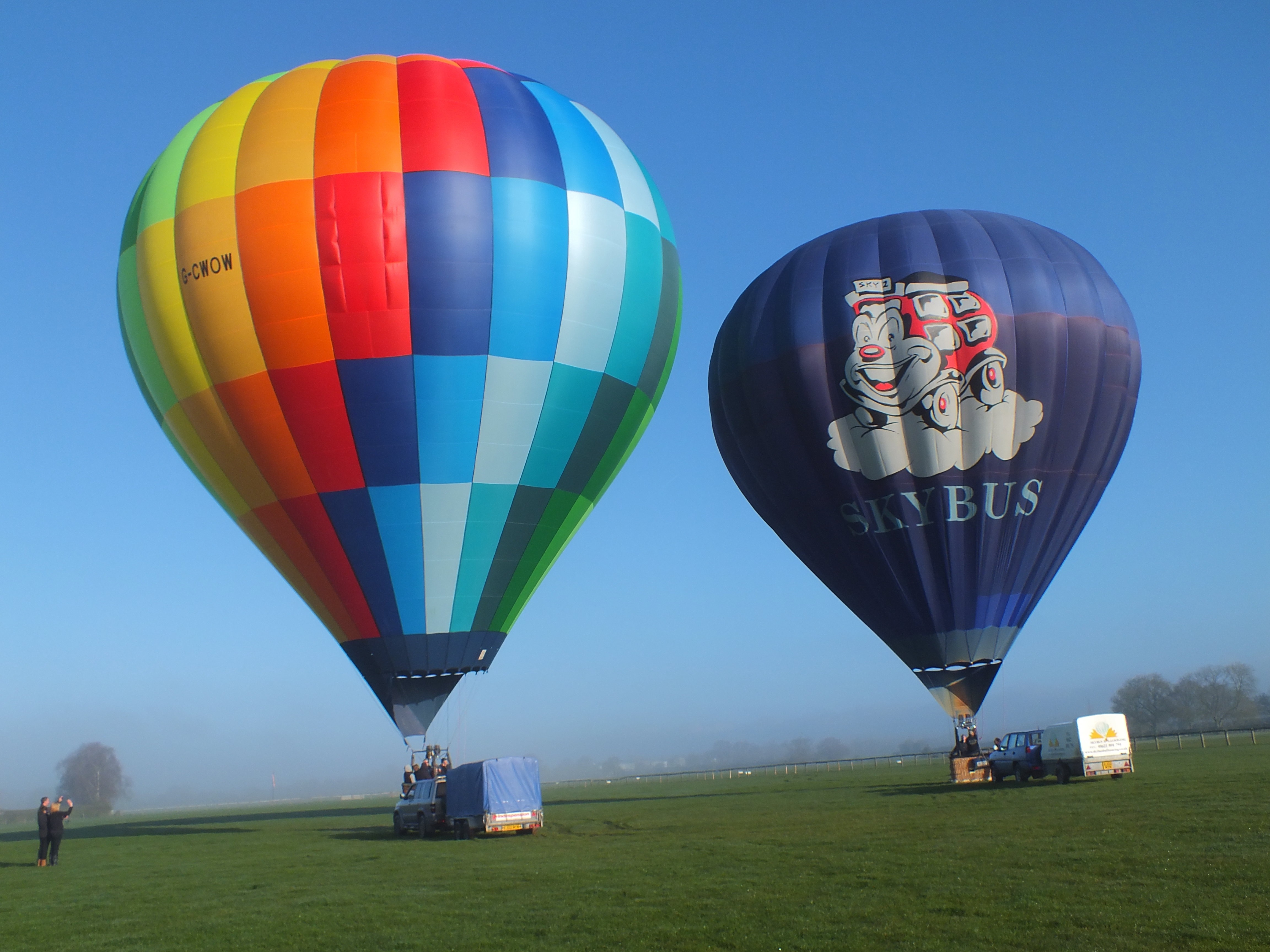 Hot Air Balloon Rides Kent Spring Deal