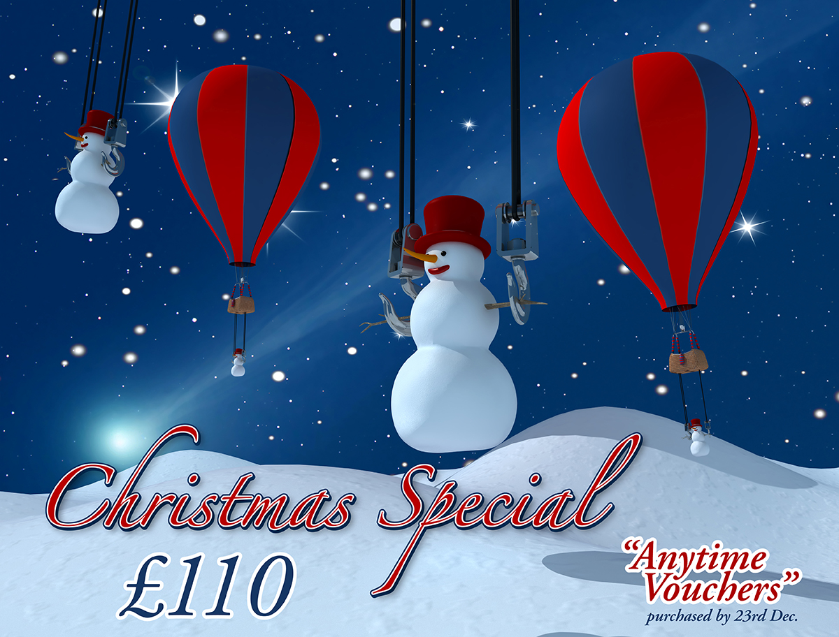 Our Christmas Offer is here - only £110 per person!!!!!